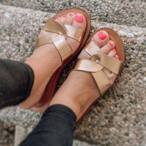A New Day Crossband Slide Sandals